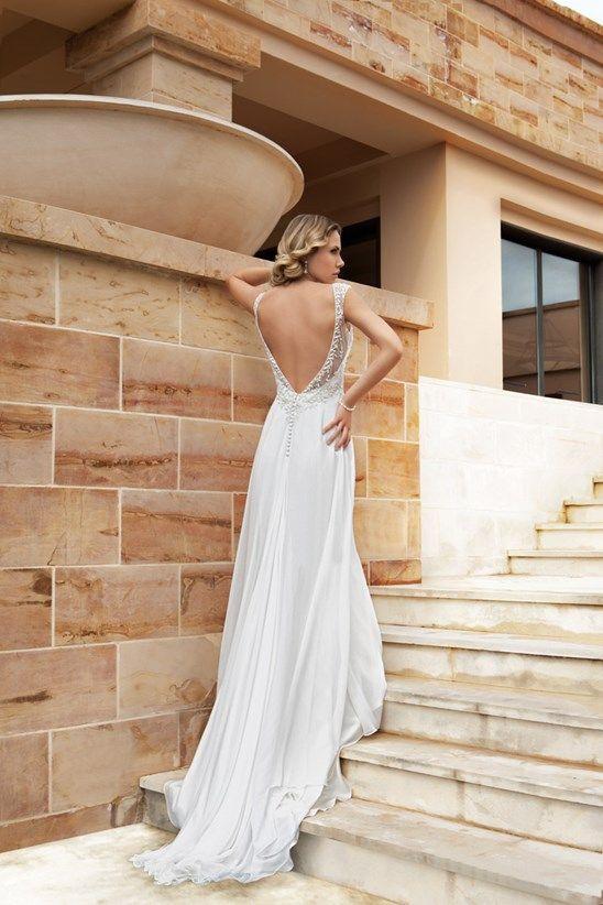 be1c793e737 Collection 2014  10 Robes de Mariée décolletées dans le dos