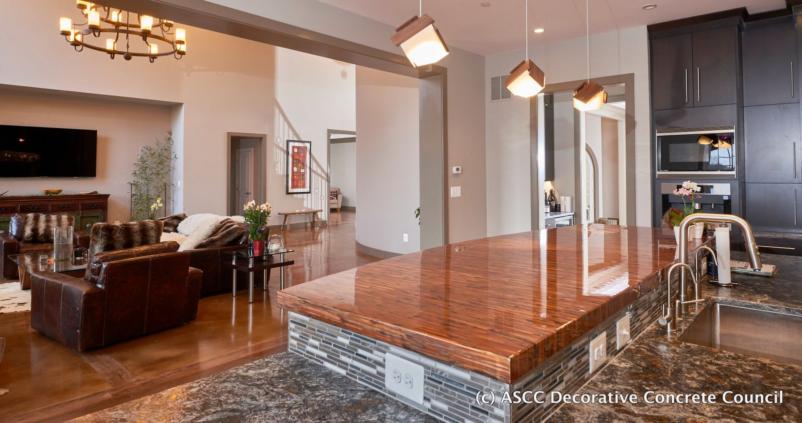 This residence by Hyde Concrete out of Pasadena MD won Place for Stained Concrete Under 5000 SF & This residence by Hyde Concrete out of Pasadena MD won 1st ... azcodes.com