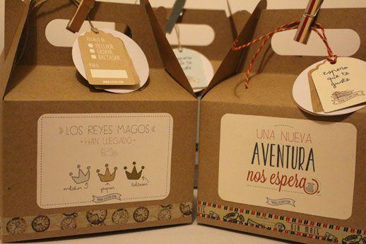 Caja reyes magos varias packaging pinterest box ideas para and gift - Ideas para reyes ...