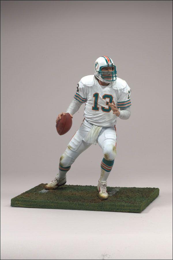 "Larry Csonka Miami Dolphins Jersey Custom 6/"" Mcfarlane Figure"