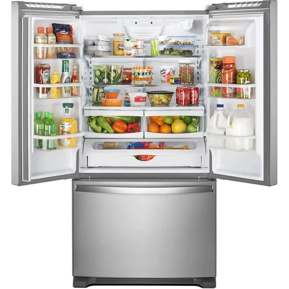 Wrf535swhz Review French Door Refrigerator French Doors Whirlpool Refrigerator