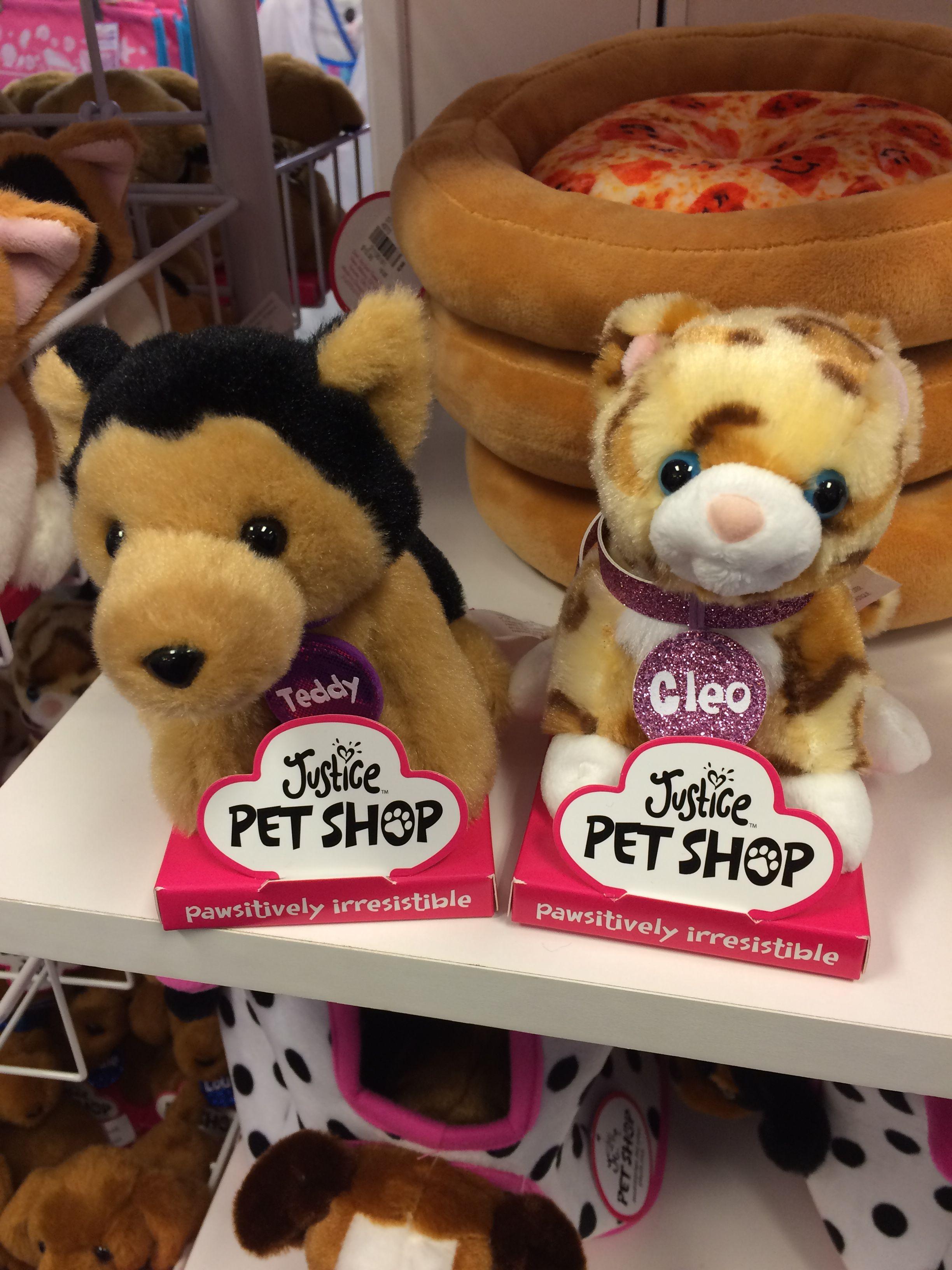 Justice Pet Shop Teddy And Cleo 9 90 Each Pet Shop Pet Toys