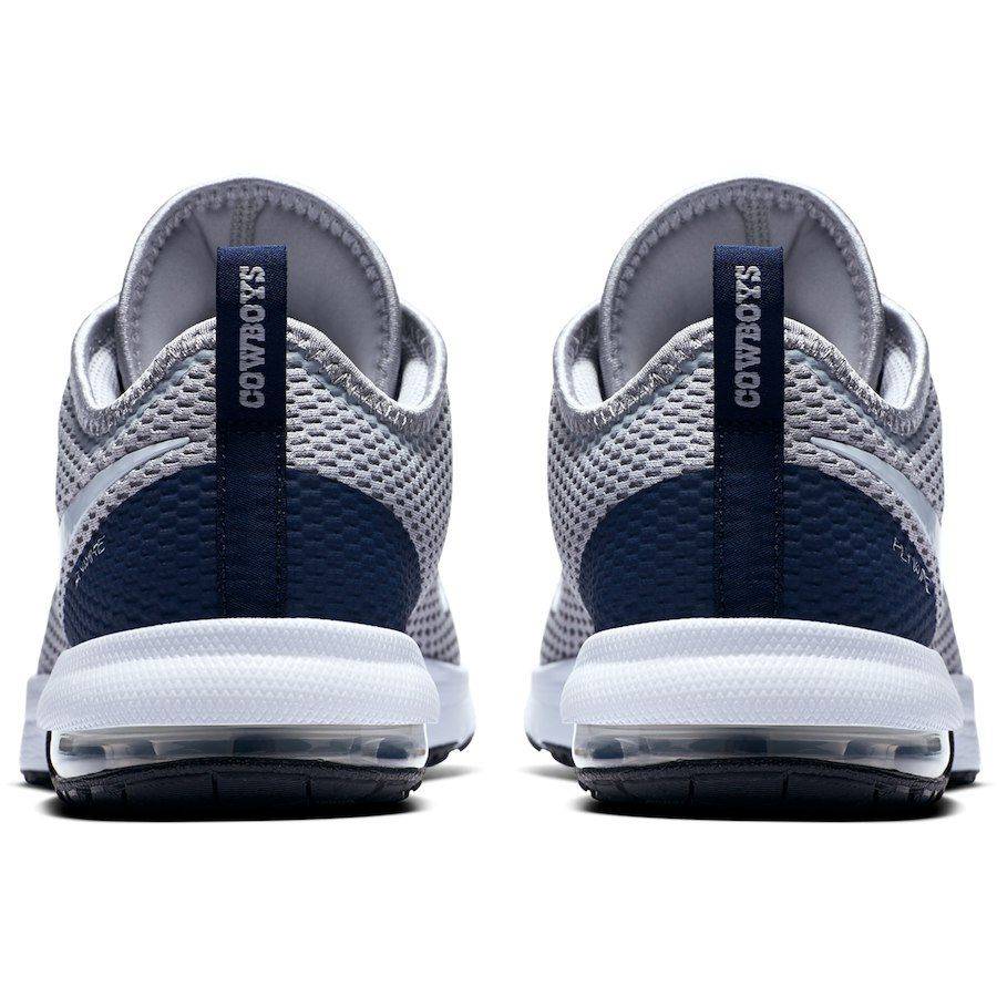2136d3d89a3 Dallas Cowboys Nike Air Max Typha 2 Shoes – Gray Navy