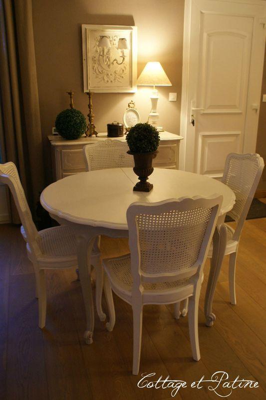 Relooking Salle à manger Louis 15 Pinterest - Interieur - salle a manger louis