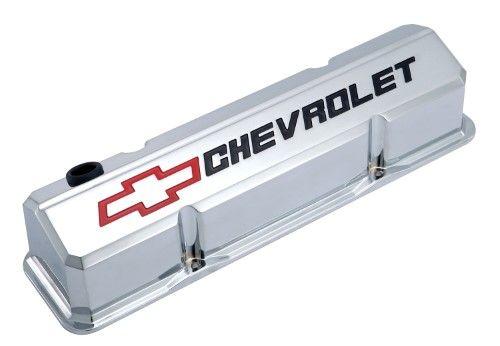 Proform 141 930 Slant Edge Valve Cover Chevrolet And Bow Tie