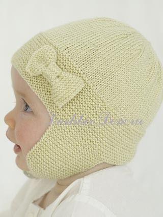 Детская шапочка с бантиком. Обсуждение на LiveInternet - Российский Сервис Онлайн-Дневников