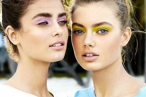 cool Fun suggestions for spring pastel eye makeup