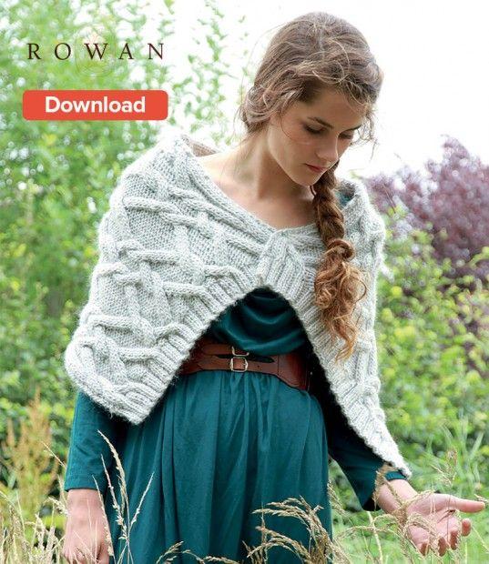 Free Rowan Ambergate Wrap Pattern Wrap Pattern Rowan And Wraps