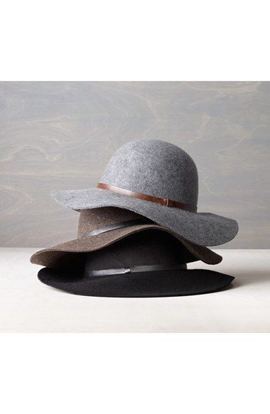 bb2136d72715ae Nordstrom+Floppy+Wool+Hat+available+at+#Nordstrom..... Tan color ...