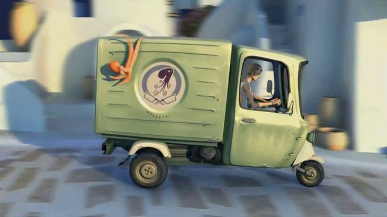 oktapodi.. (2007) - oscar 2009 animated short film... Two octopuses help each other in their comical escape from the grasps of a stubborn re...