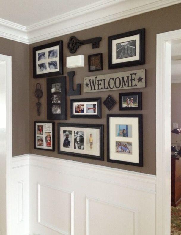 Collage wall | Homes & Decor | Pinterest | Ideas de decoracion ...