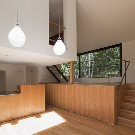 Tiered Lodge by Naoi Architecture and Design Office