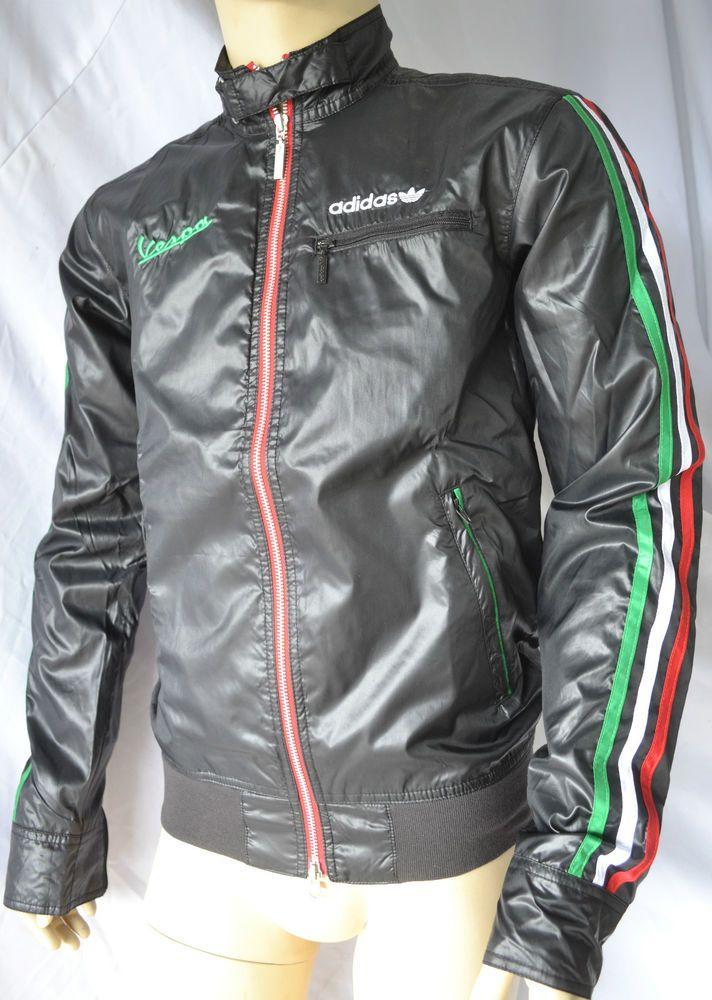 About Details Originals Vespa Light Black Adidas Jacket Drive F3l1JcKT