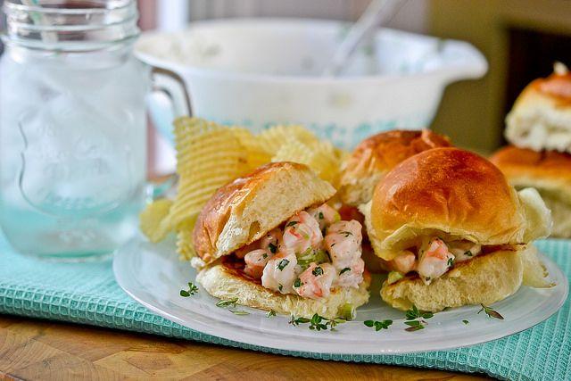 Shrimp Salad Sandwiches by Full Fork Ahead