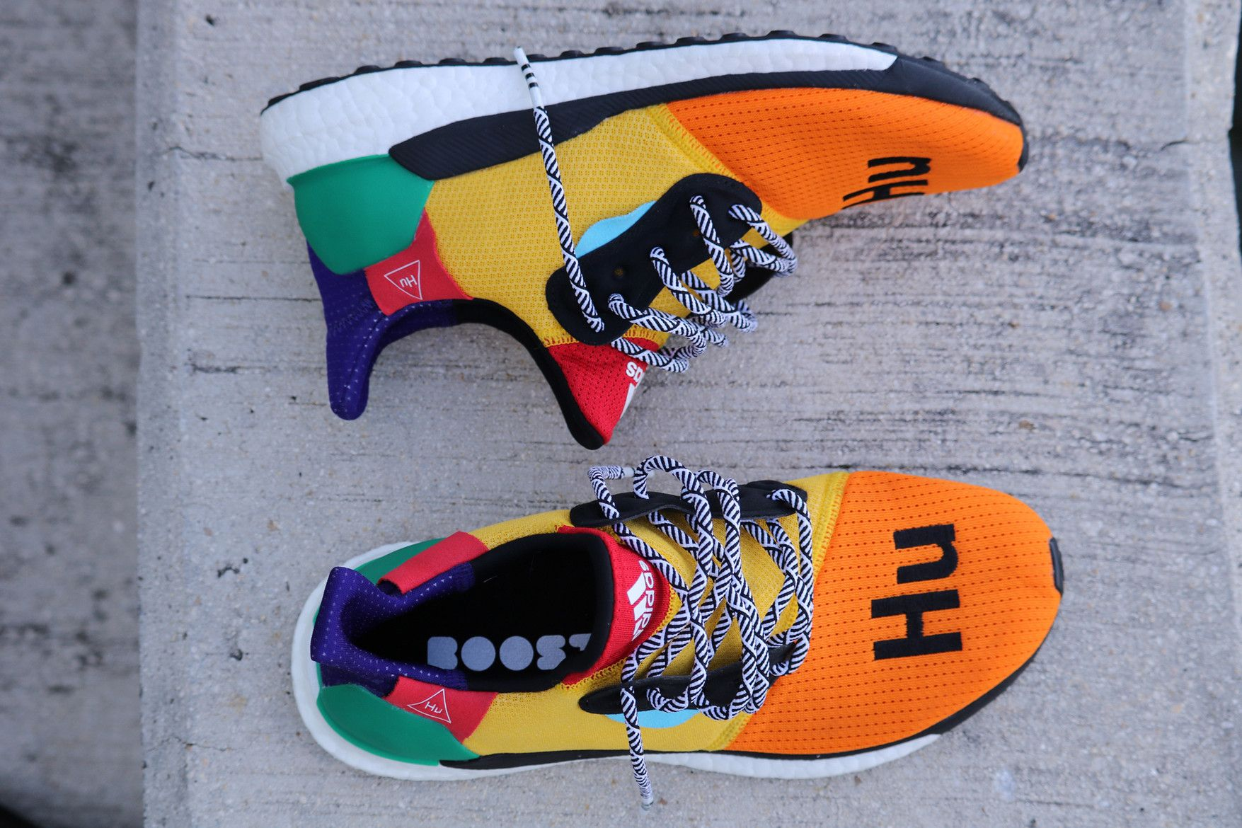 50b7db823 An On-Foot Look at the Pharrell x adidas Solar Hu Glide St