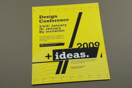Contemporary Design Conference Flyer  Architecture Brochure