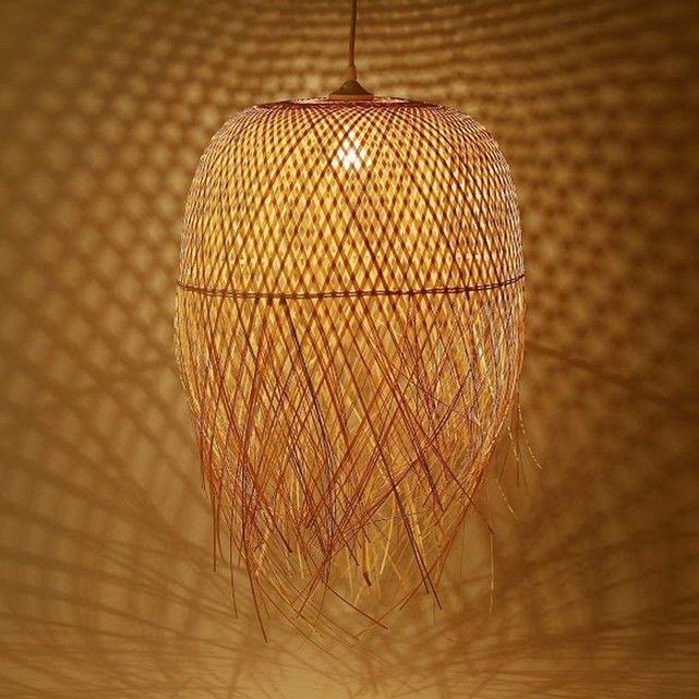 onature suspension bambou nest commerce quitable la redoute living room ideas. Black Bedroom Furniture Sets. Home Design Ideas