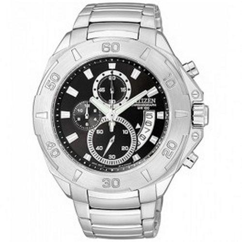 Citizen Chronograph WR100 Date Display Mens Sports Watch Model - AN3500-53A 991716afa4a