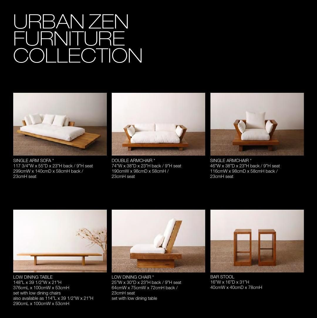 Urban Zen Home Collection