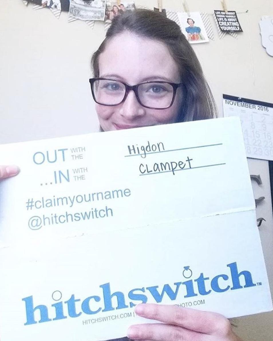 #HitchSwitch #claimyourname 📸: @jamie_higdon