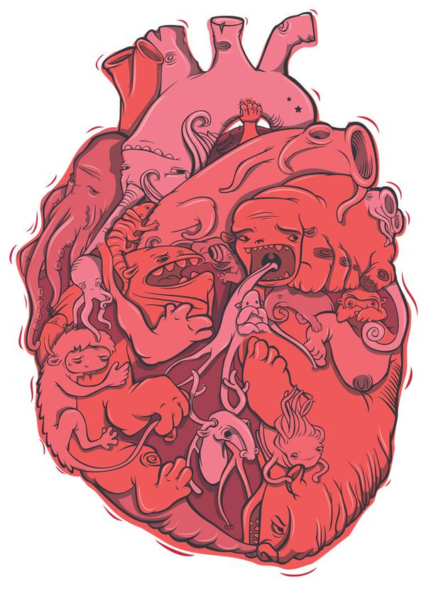 T-SHIRT design by luiza kwiatkowska, via Behance | Pop art ...