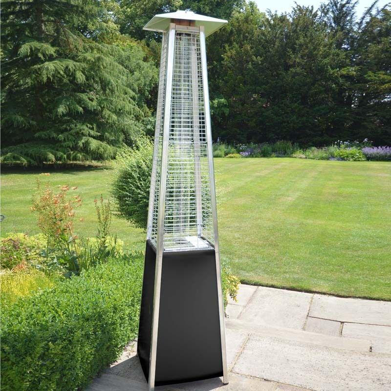 Amazing LeisureGrow Dante Pyramid Flame Garden Patio Heater