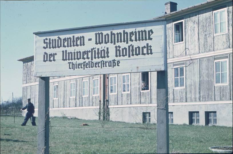 Rostock, Studentenwohnheim Thierfelder Straße, 50er?