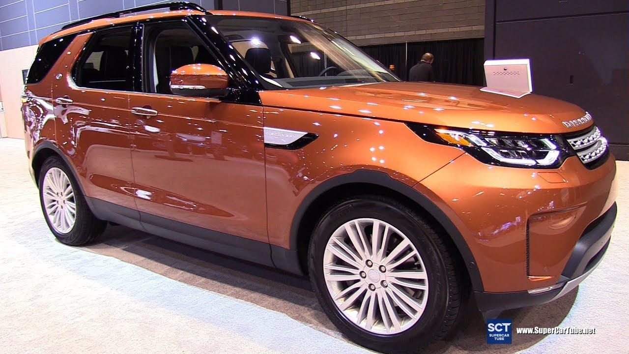 2018 Land Rover Discovery HSE Lux Exterior and Interior