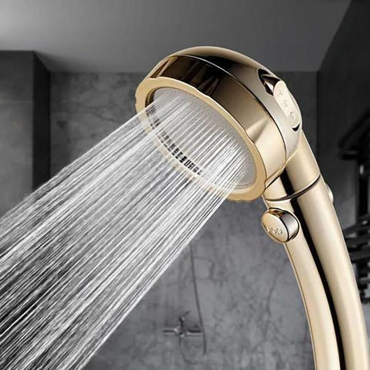 high flow shower head with hose