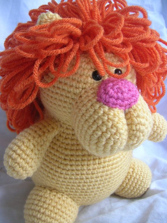 Leonard the Lion - Amigurumi Crochet PATTERN ONLY (PDF) | Juguetes ...