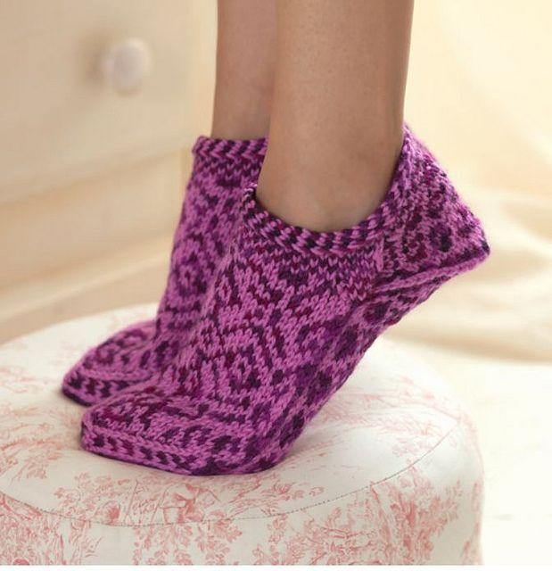 Knitting Scandinavian Slippers And Socks Slippers Pattern Slippers Knitted Slippers