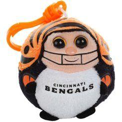 Cincinnati Bengals Ty Beanie Balls Plush Clip  bb465d4ab