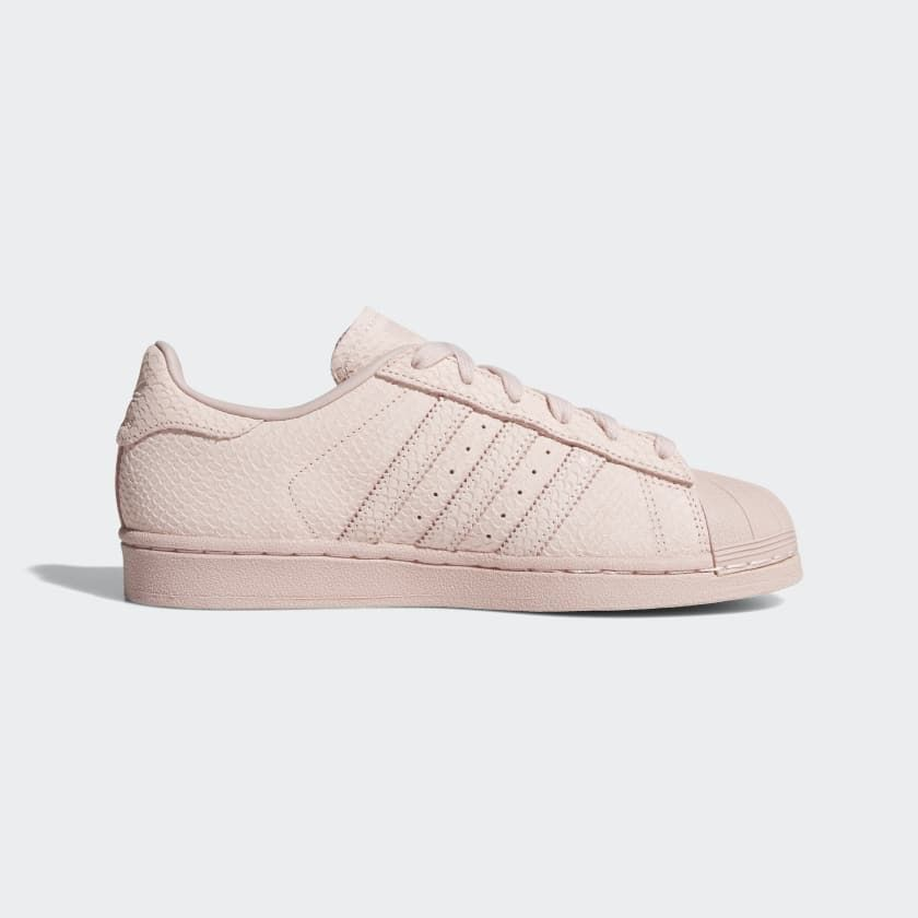 finest selection 65473 cad7c Superstar Shoes Icey Pink   Icey Pink   Silver Metallic B41506