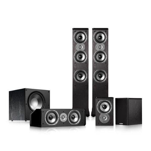 Polk Audio Tsi400 5 1 Home Theater Speaker Package Review Polk Audio Home Theater Speaker System Home Theater Speakers