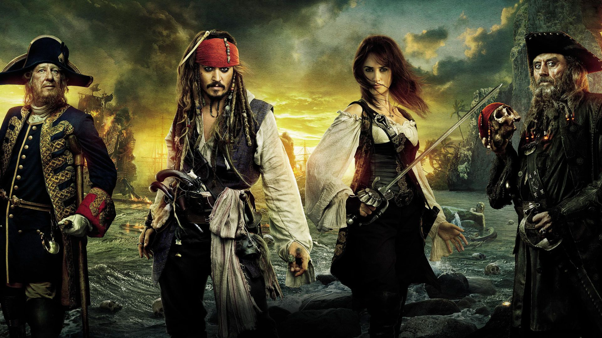 Pirates Of The Caribbean – Fremde Gezeiten Stream