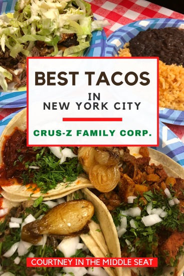 Best Tacos In New York City The Crus Z Family Makes The Most Delicious Tacos In New York City Authen In 2020 Mexican Food Recipes Authentic Travel Food New York City