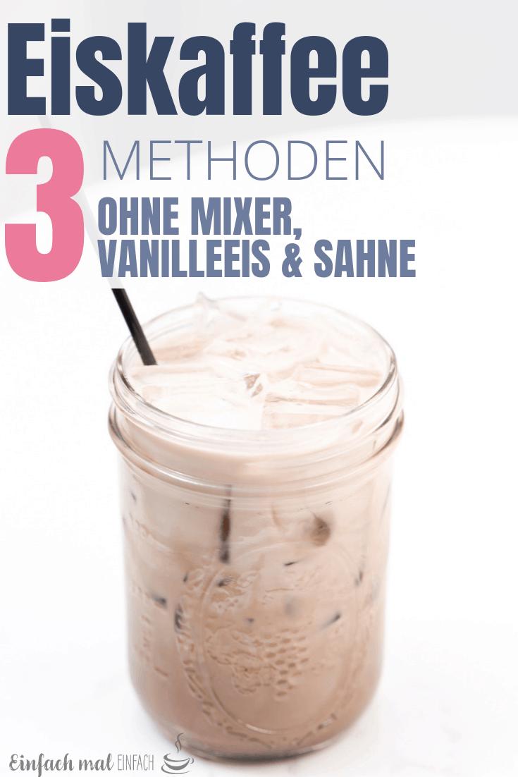 Eiskaffee ohne Schnickschnack #lattemacchiato