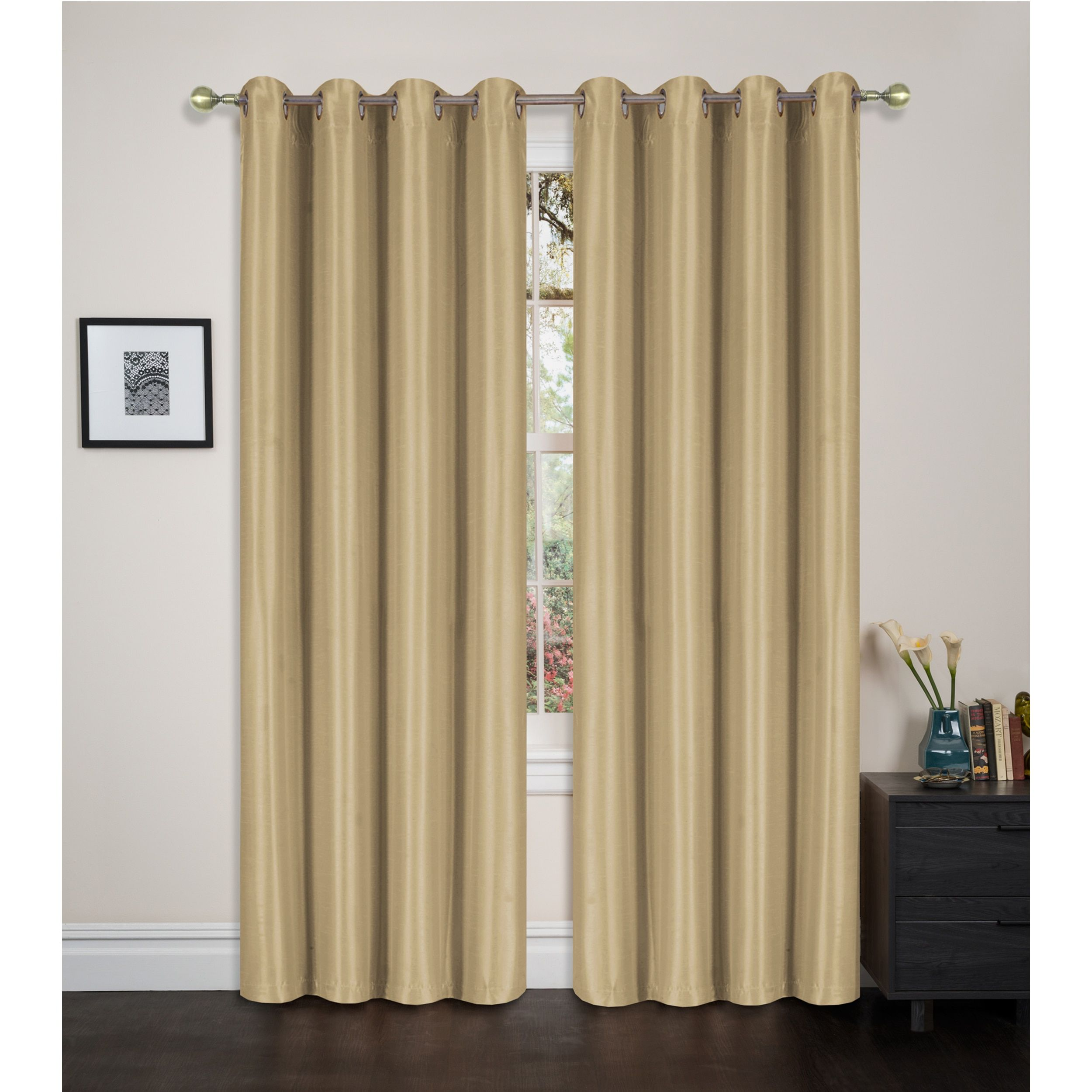 by p eclipse of fmt single navy panel window wid and blackout picture curtain qlt hei