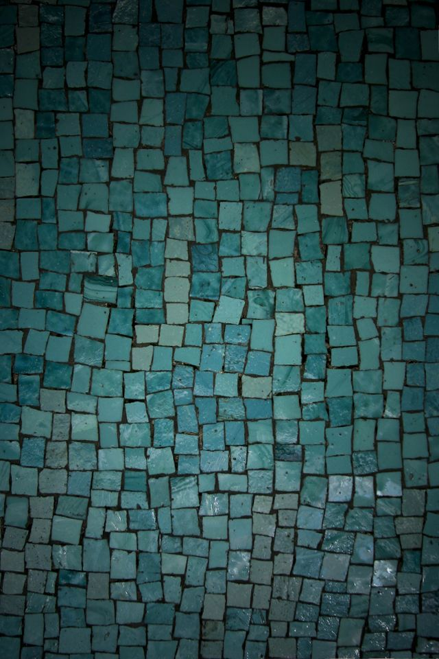 Aqua Tiles #iPhone 4s #Wallpaper | http://www.ilikewallpaper.
