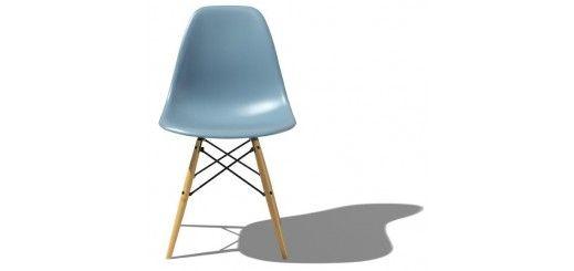Eames Molded Plastic Side Chair - Dowel Base