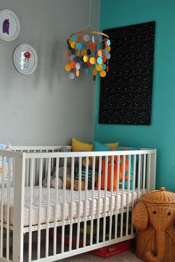 my gal leitia's awesome nursery for her little boy Levi!! :D