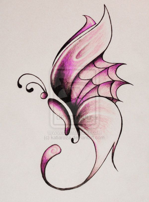 butterfly design by katiaroza.deviantart.com on @deviantART