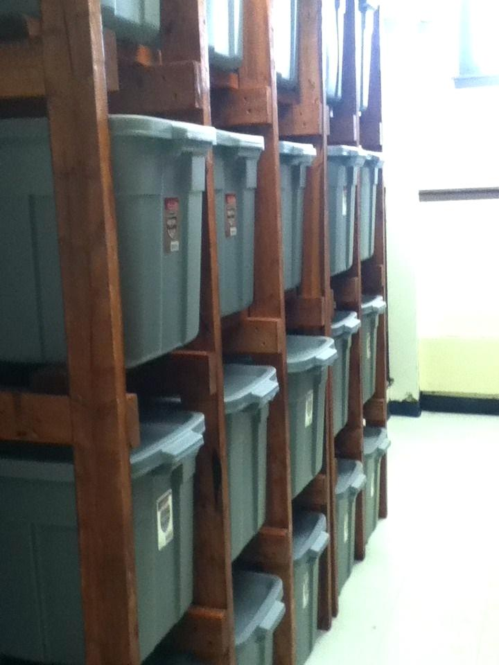 tote storage shelves tote bin storage shelves rubbermaid