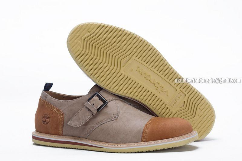 Timberland Men's EK Brook Park Oxford Shoe Light Brown