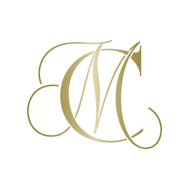 Wedding Gobo Monogram Gobo Lighting Wedding Monogram Mc Initials Cm Initials In 2020 Wedding Logo Monogram Logo Design Collection Logo Design Inspiration