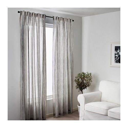 Dagrun Curtains 1 Pair Ikea The Curtains Let The Light Through But