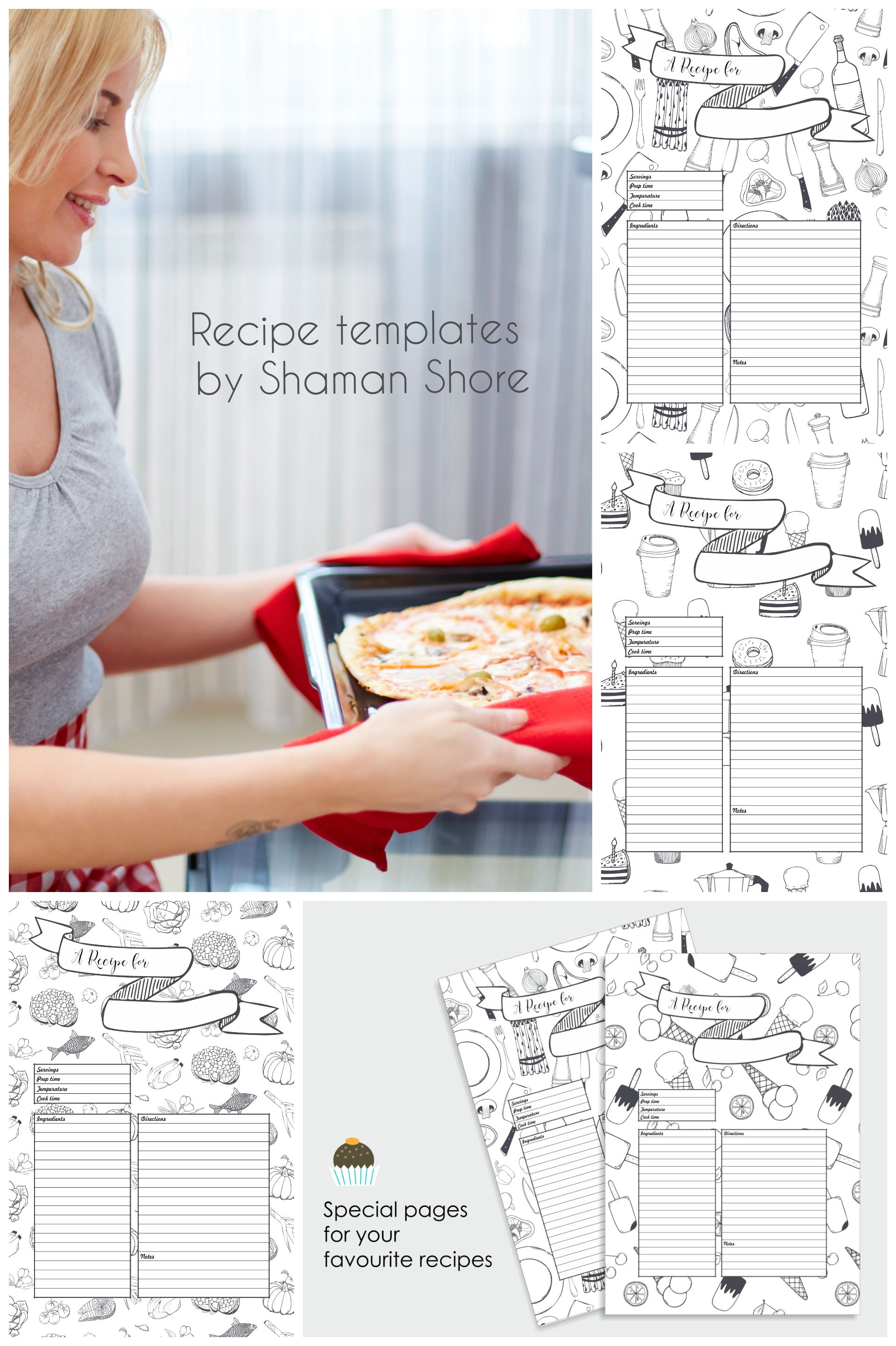 a4 recipe card template fun recipe template 8 x 11 printable blank recipe pages recipe sheets