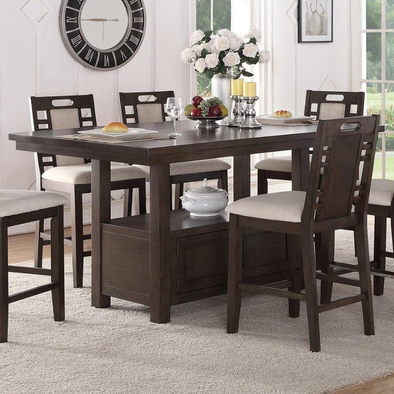 Servis Counter Height Dining Table Counter Height Table Dining Table Counter Height Dining Table