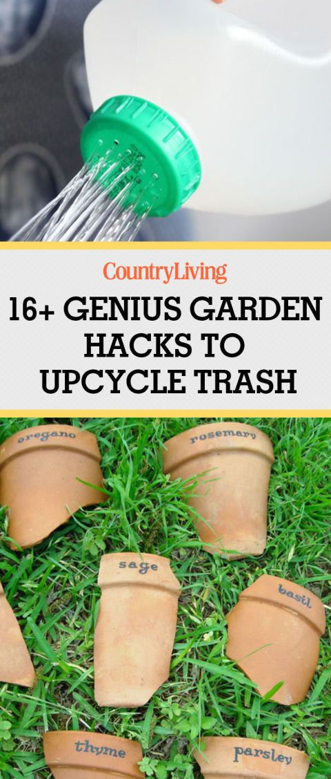 16 Garden Hacks You\'d Never Think to Try