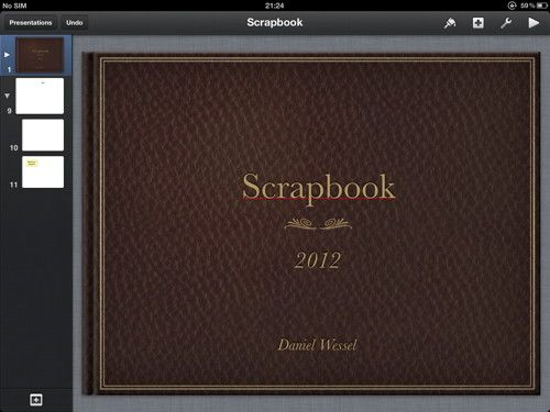Keynote App And Ipad For Scrapbooking Scrapbooking Pinterest